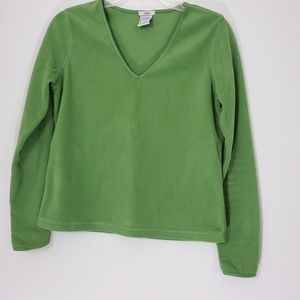 Old Navy Green Easy Fit soft pullover top, Small